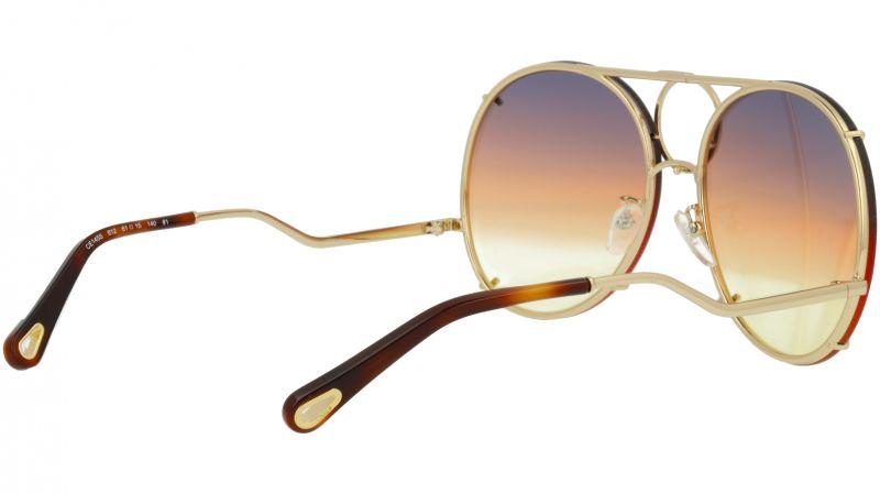 Chloé CE145S 812 61 Gold Vicky Aviator Sunglasses