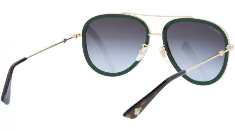 GUCCI GG0062S 003 57 GOLD Sunglasses