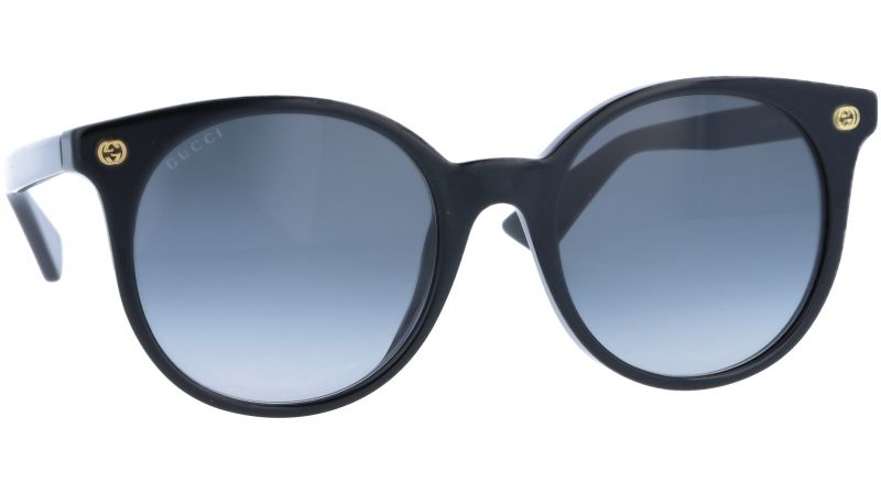 GUCCI GG0091S 001 52 BLACK Sunglasses