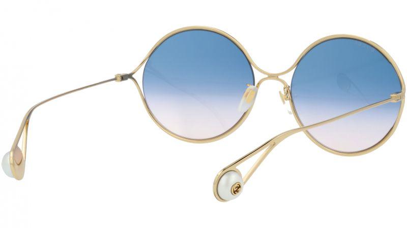GUCCI GG0253SA 003 60 GOLD Sunglasses