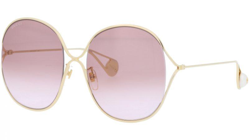 GUCCI GG0362S 002 57 GOLD Sunglasses