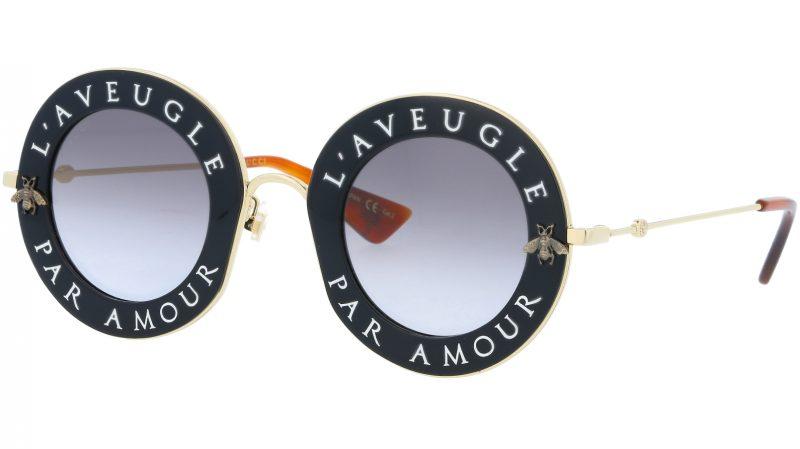 GUCCI GG0113S 001 44 BLACK Sunglasses