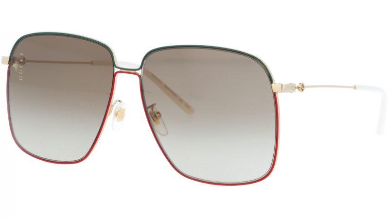 GUCCI GG0394S 003 61 GOLD Sunglasses