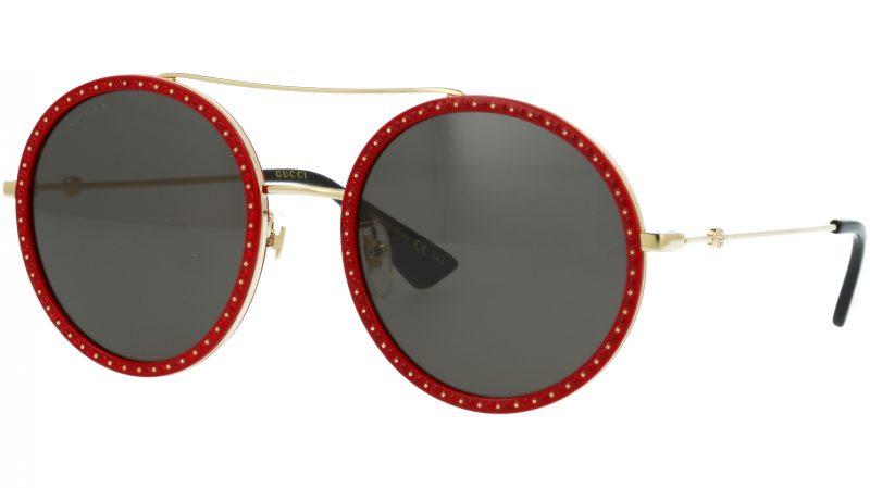 GUCCI GG0061S 018 56 GOLD Sunglasses