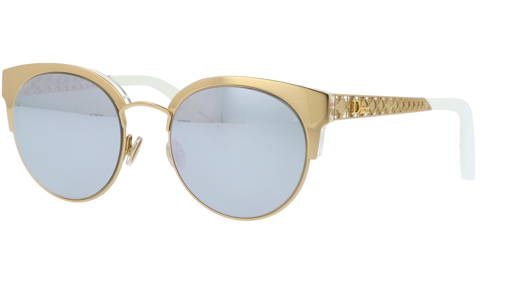 DIOR DIORAMAMINI J5GDC 50 GOLD Sunglasses