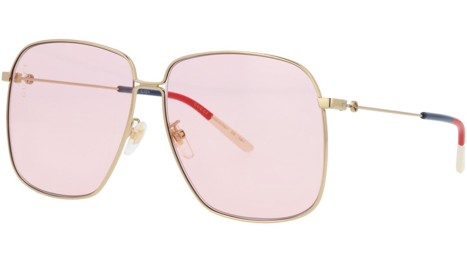 GUCCI GG0394S 006 61 GOLD Sunglasses