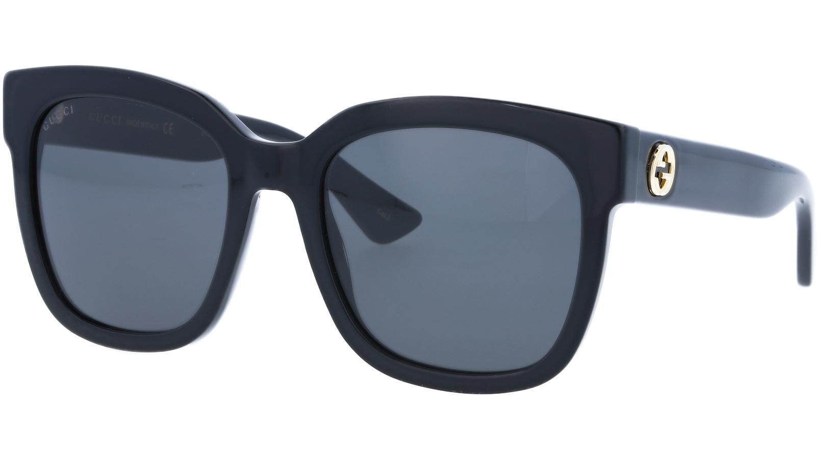 GUCCI GG0034S 001 54 BLACK Sunglasses
