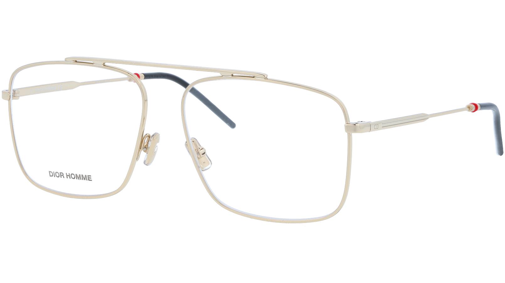 Dior 0220 J5G 58 Gold Glasses