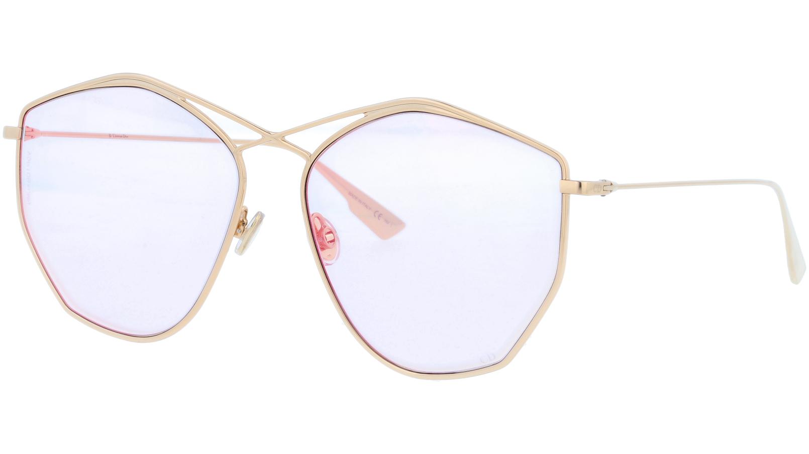 Dior Stellaire4 J5GW7 59 Gold Sunglasses