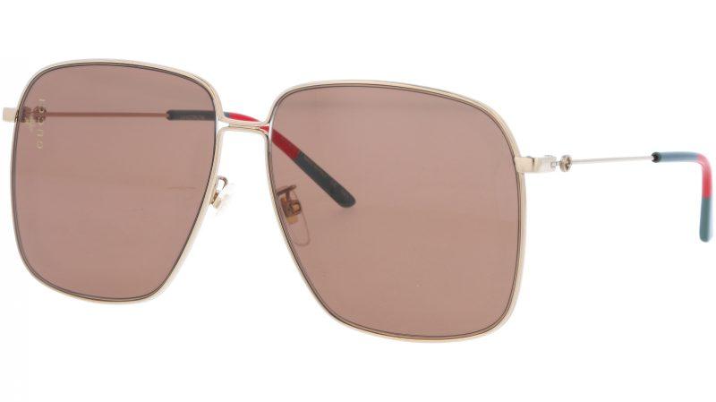 GUCCI GG0394S 002 61 GOLD Sunglasses