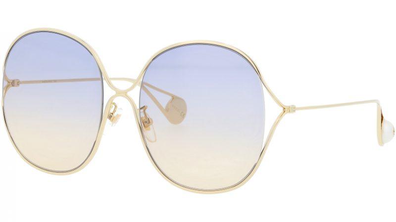 GUCCI GG0362S 003 57 GOLD Sunglasses