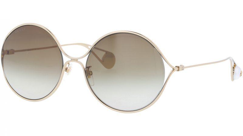 GUCCI GG0253SA 002 60 GOLD Sunglasses