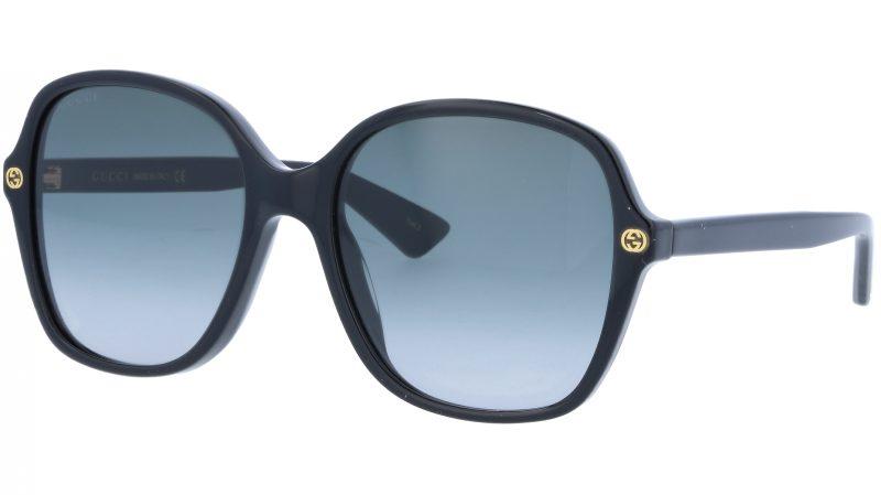 GUCCI GG0092S 001 55 BLACK Sunglasses