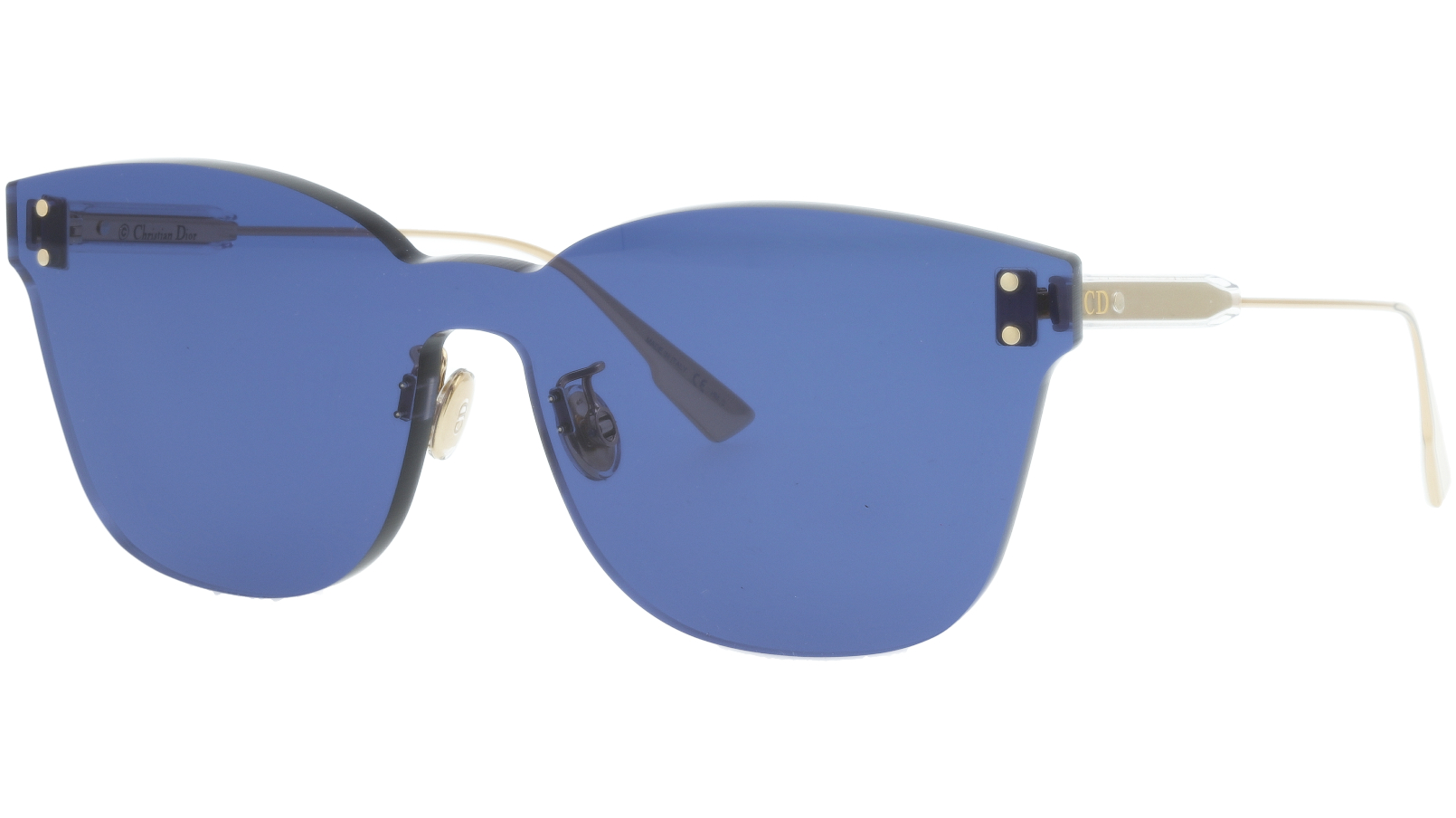 DIOR DIORCOLORQUAKE2 40GH0 99 YELLOW Sunglasses