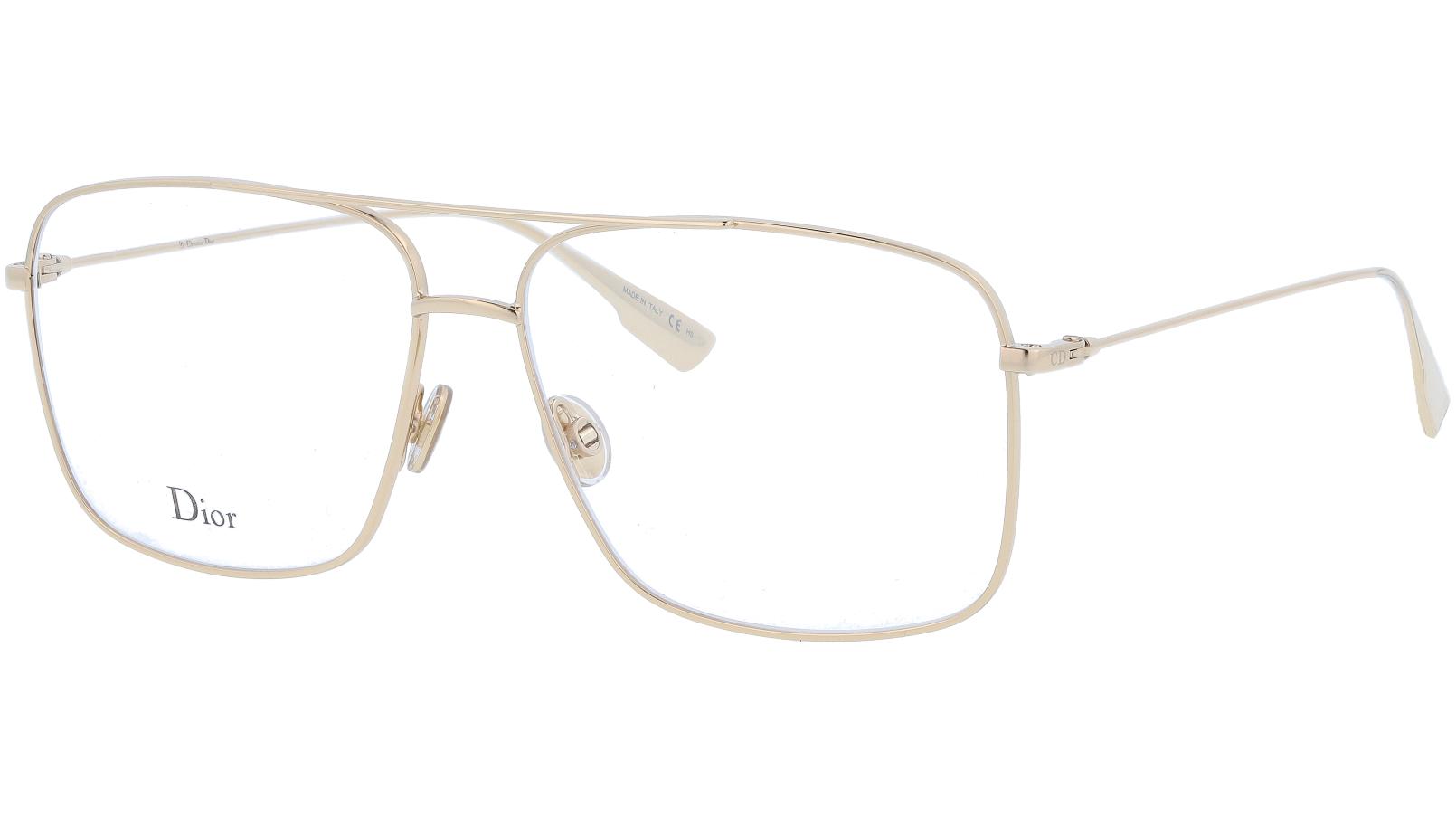 Dior StellaireO3 J5G 57 Gold Glasses