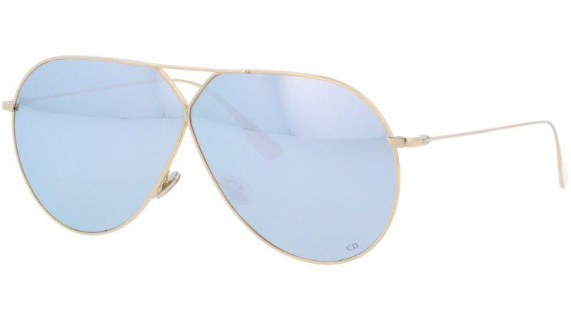 Dior Stellaire3 J5GDC 65 Gold Sunglasses