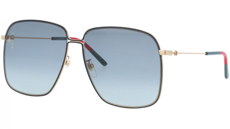 GUCCI GG0394S 001 61 GOLD Sunglasses