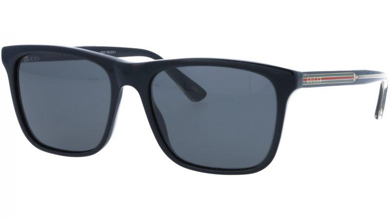 GUCCI GG0381S 001 55 BLACK Sunglasses