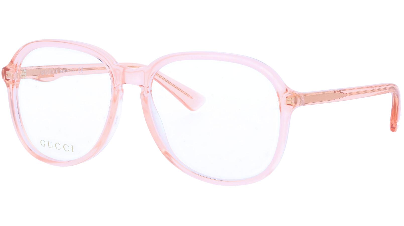 GUCCI GG0259O 005 55 ORANGE Glasses