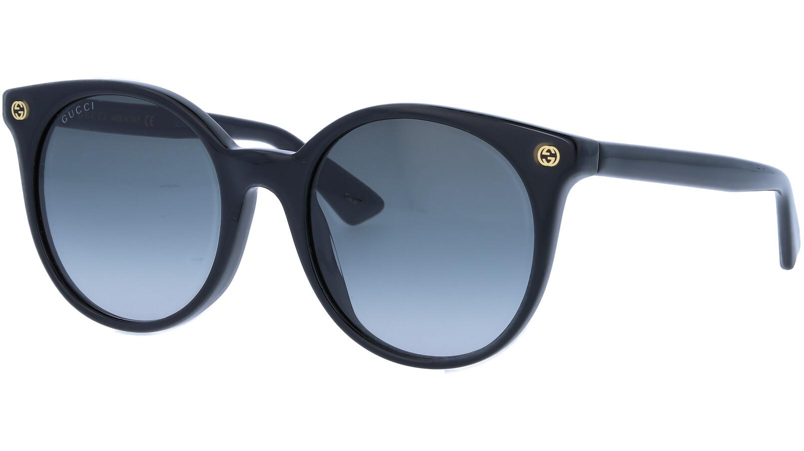 GUCCI GG0091S 001 52 BLACK Sunglasses