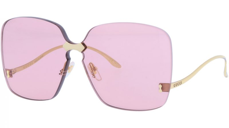 GUCCI GG0352S 003 99 GOLD Sunglasses