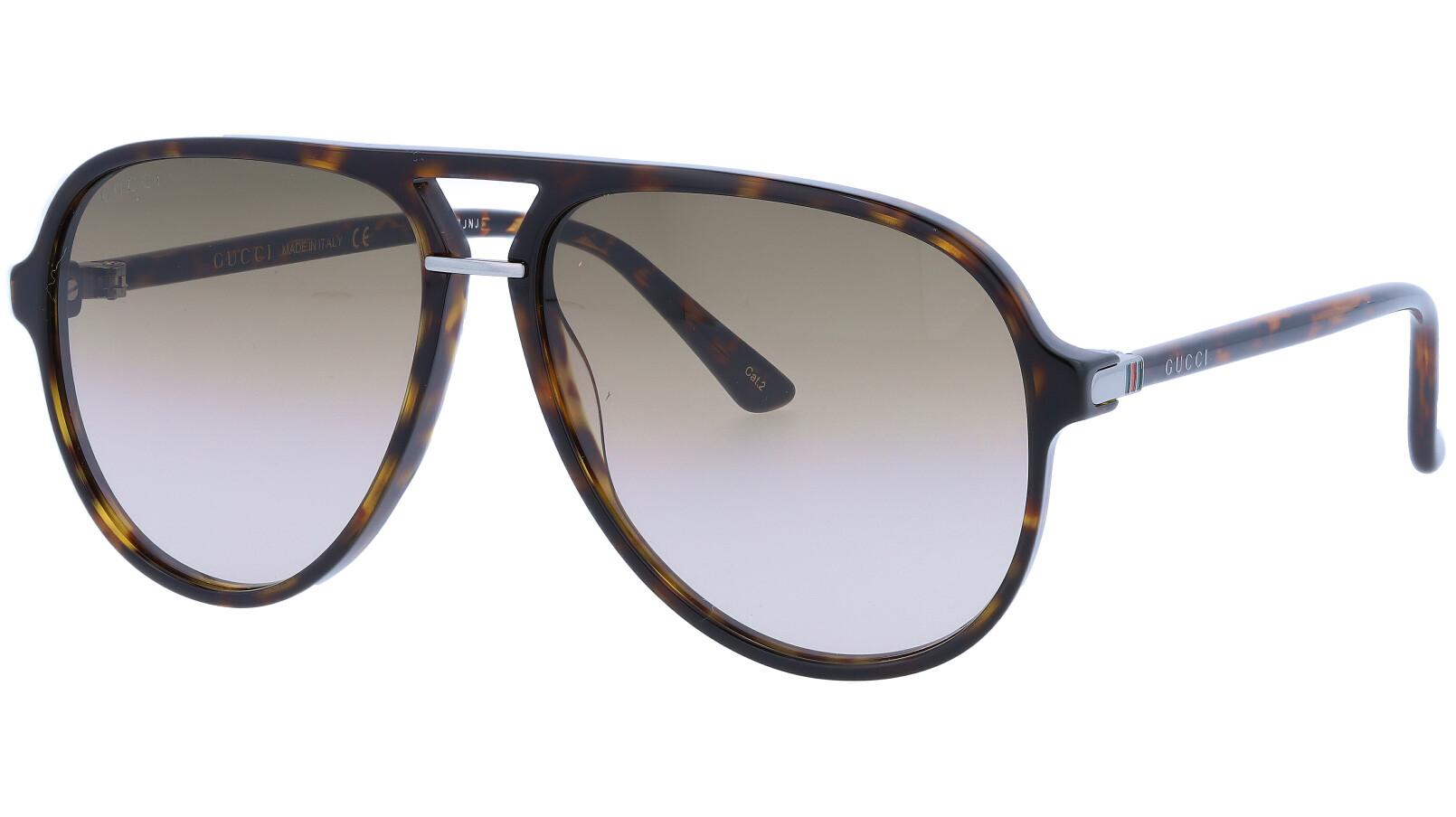 GUCCI GG0015S 001 58 BLACK Sunglasses