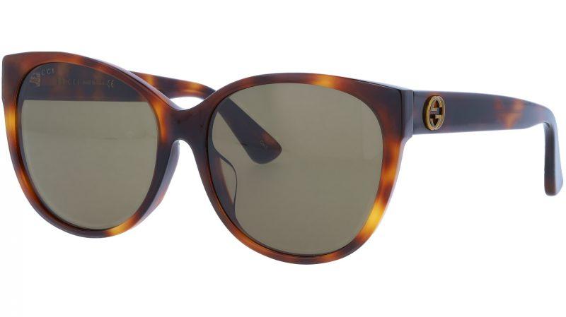 GUCCI GG0097SA 002 58 AVANA Sunglasses
