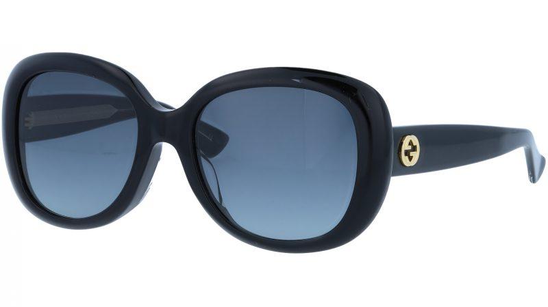 GUCCI GG0140SA 001 55 BLACK Sunglasses