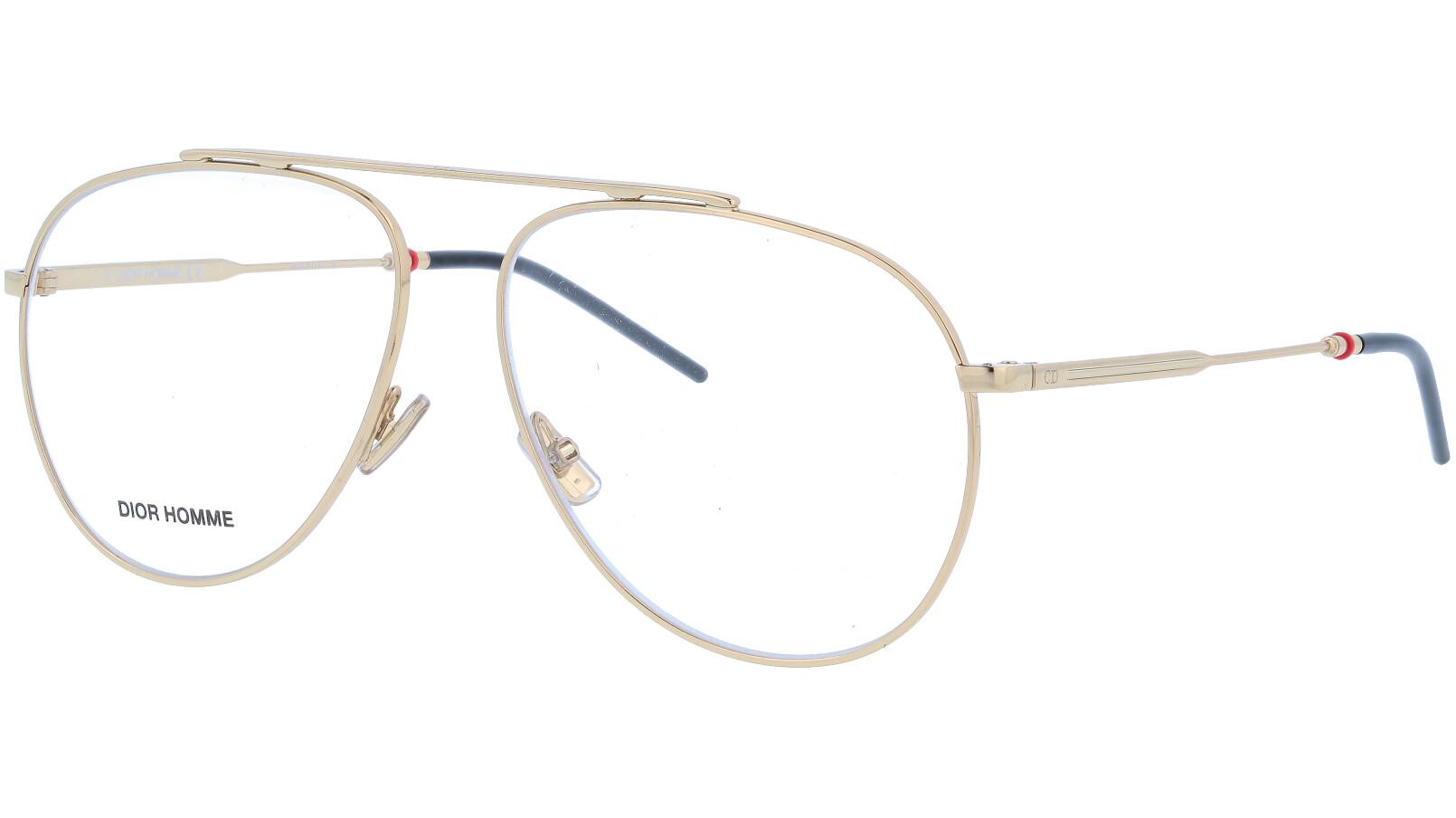 Dior 0221 J5G 58 Gold Glasses