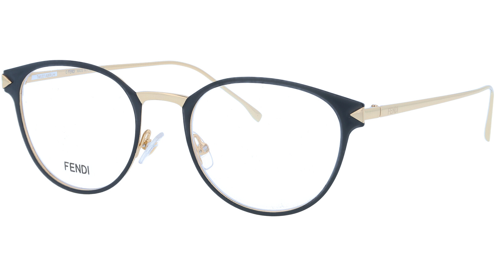 FENDI FF0167 FOG 50 BLACK Glasses