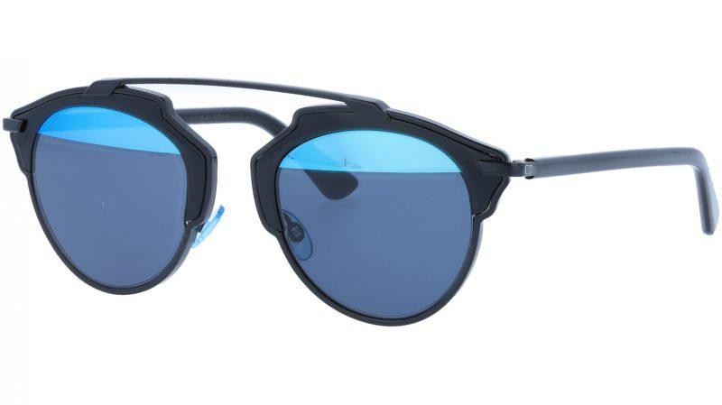 Dior SOREAL BOYY0 48 Black Sunglasses