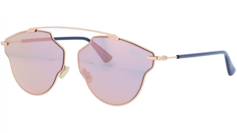 Dior SoRealPop 0130J 59 Gold Sunglasses