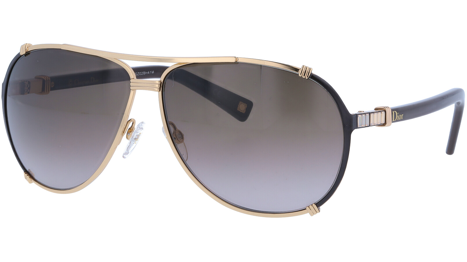 DIOR DIORCHICAGO2STR NB2P9 63 RESGDPK Sunglasses