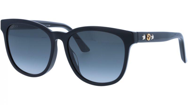 GUCCI GG0232SK 001 56 BLACK Sunglasses