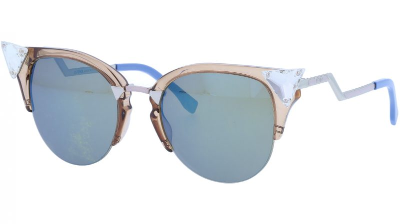 FENDI FF0041/S 9F43U 52 Dove Iridia Sunglasses