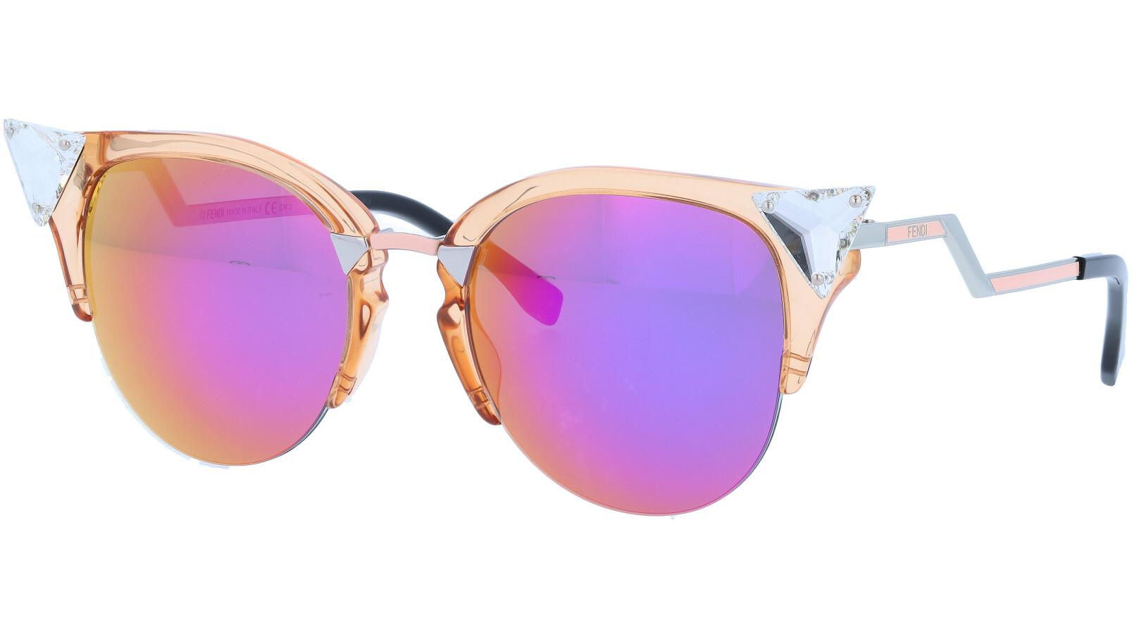 FENDI FF0041/S 9F6VQ 52 TRPCH Iridia Sunglasses