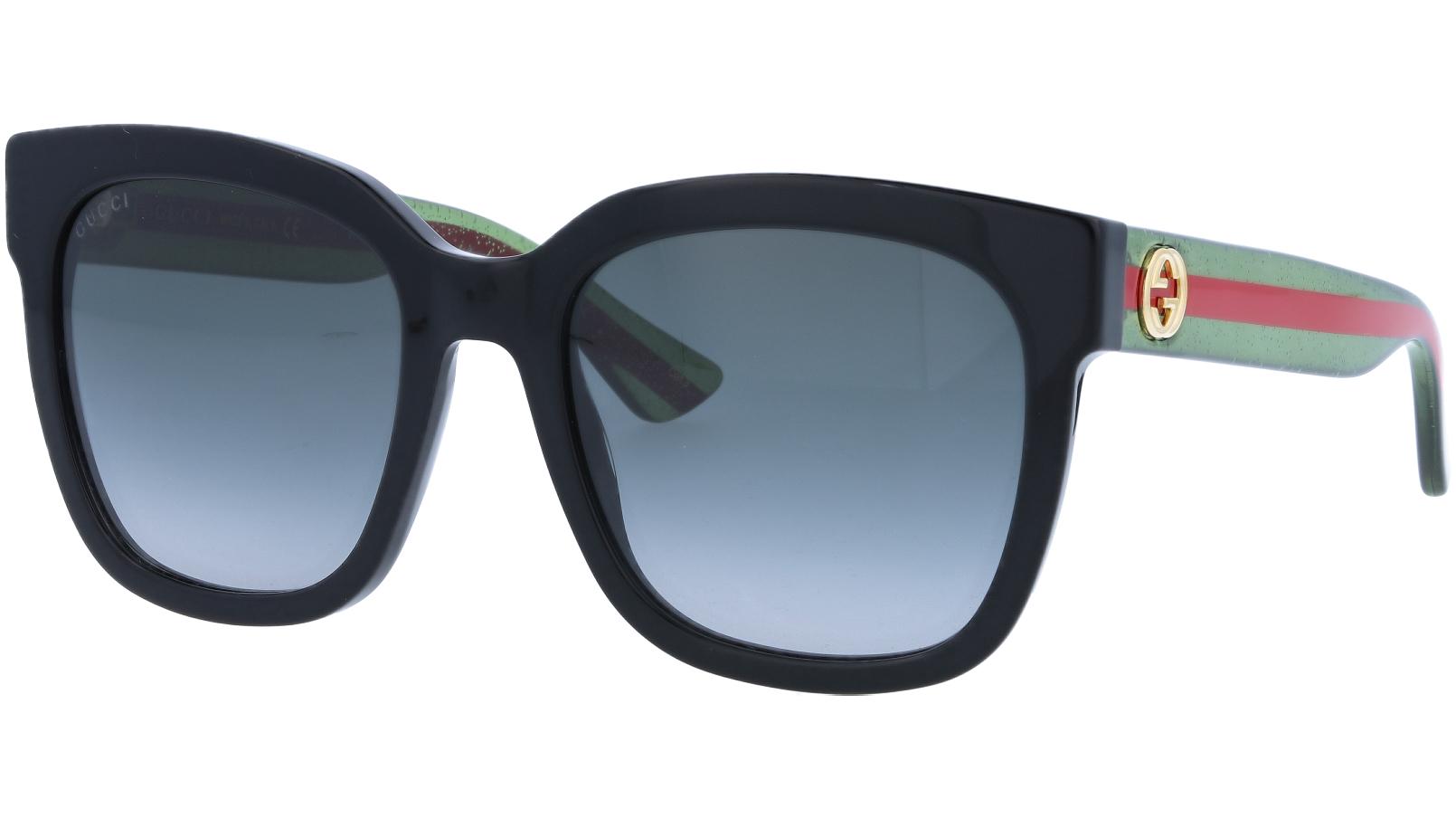 GUCCI GG0034S 002 54 BLACK Sunglasses