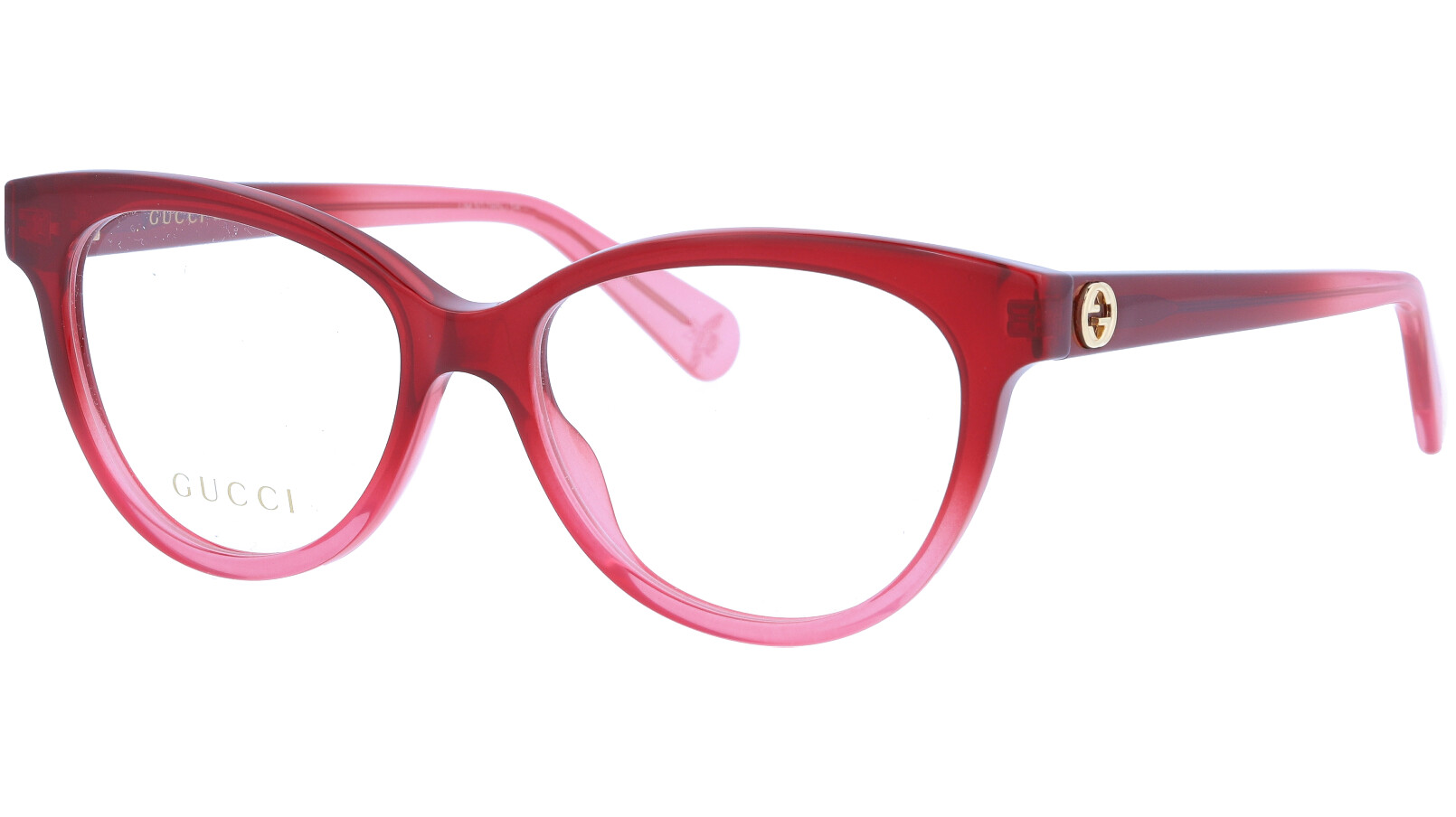 GUCCI GG0373O 005 52 RED Glasses