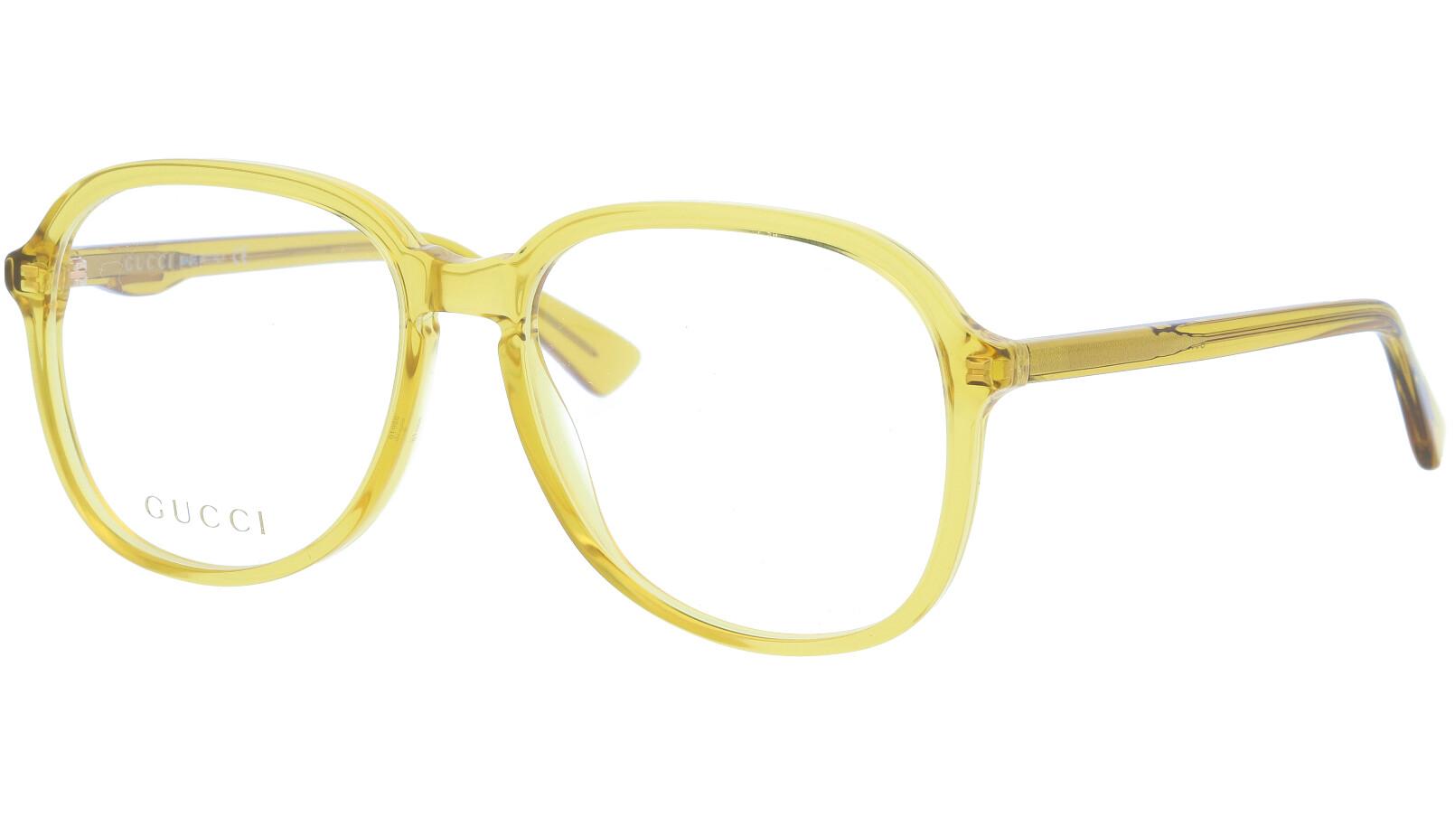 GUCCI GG0259O 006 55 YELLOW Glasses