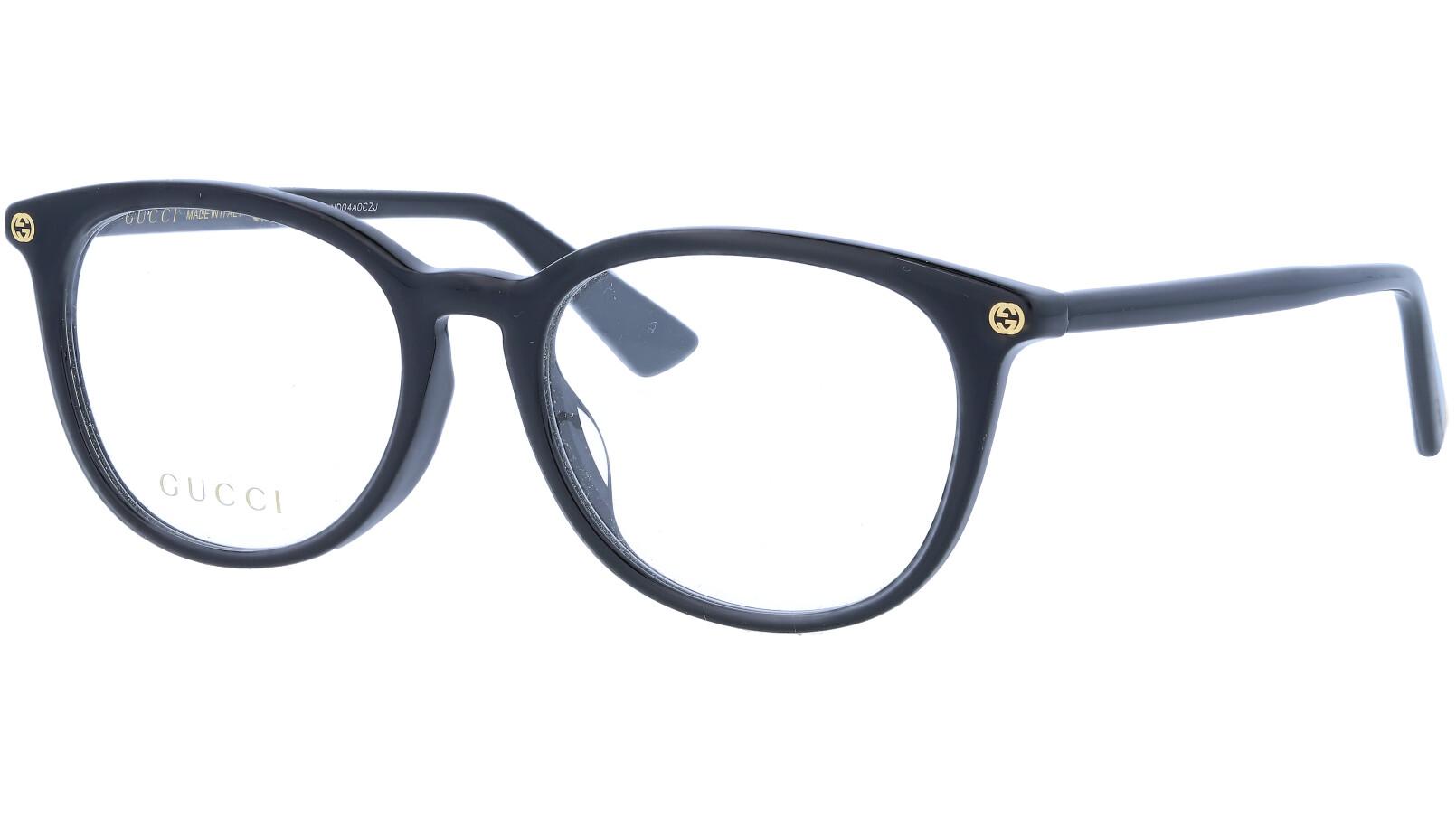 GUCCI GG0155OA 001 52 BLACK Glasses