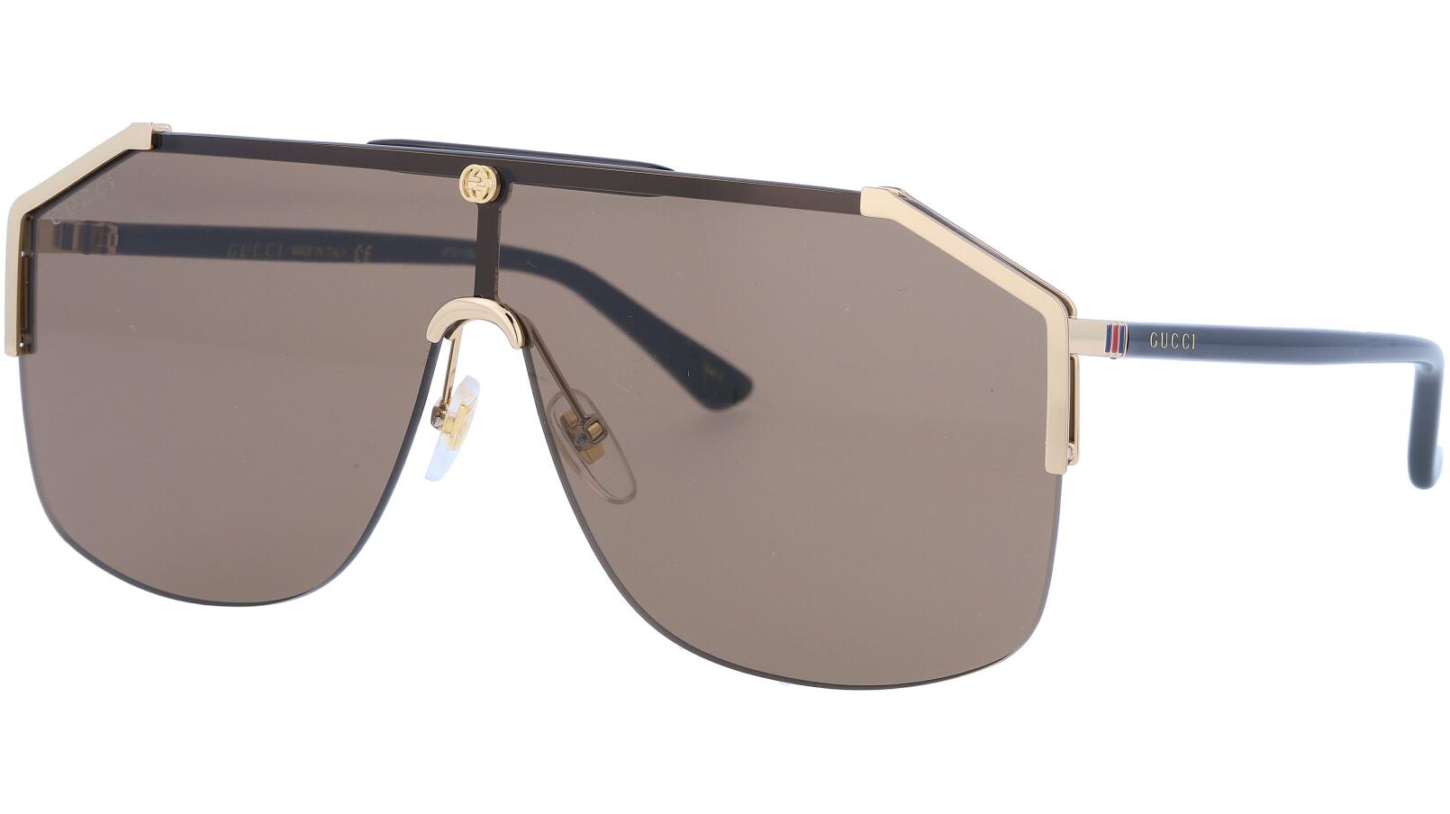 GUCCI GG0291S 003 99 GOLD Sunglasses