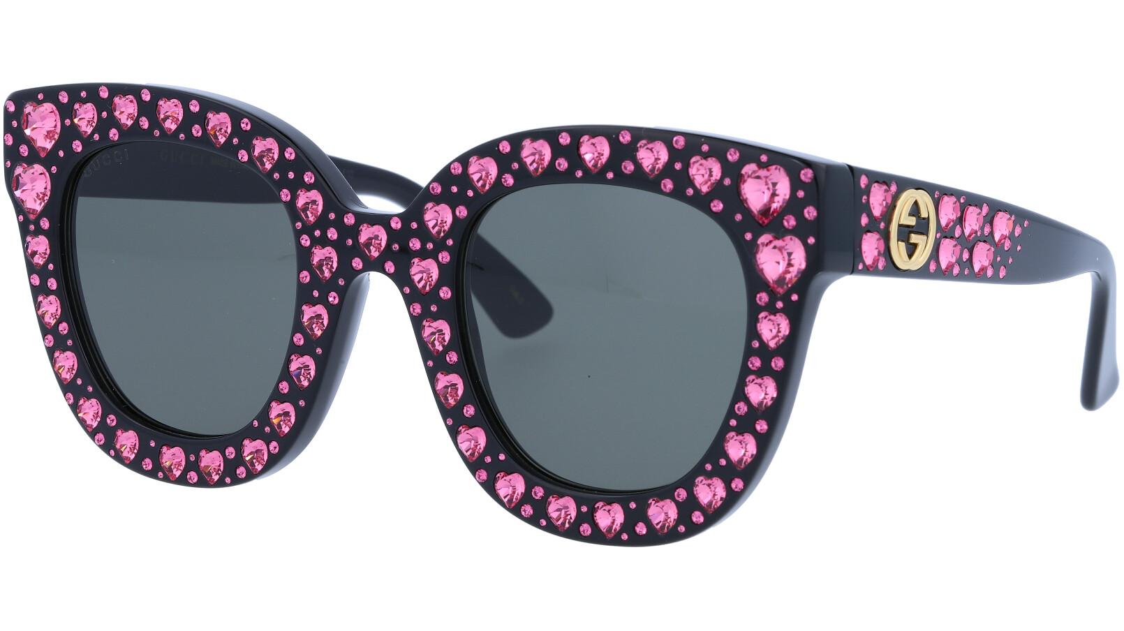 GUCCI GG0116S 005 49 BLACK Sunglasses