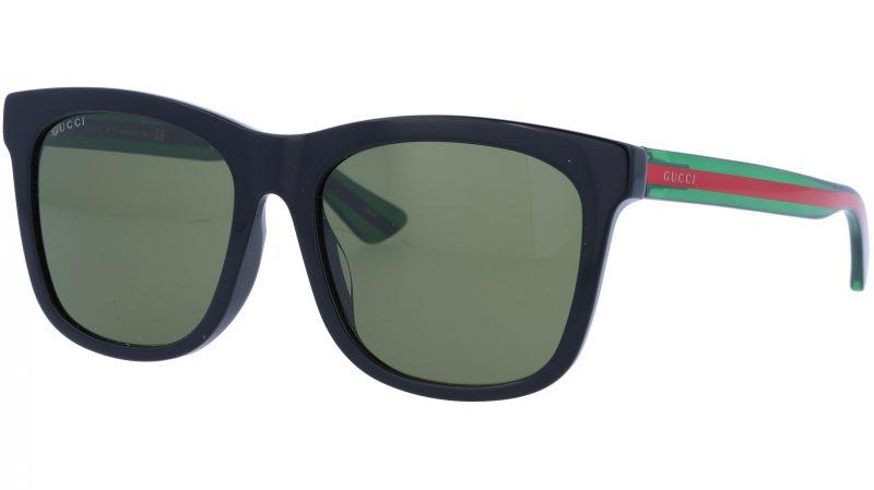 GUCCI GG0057SK 002 56 BLACK Sunglasses