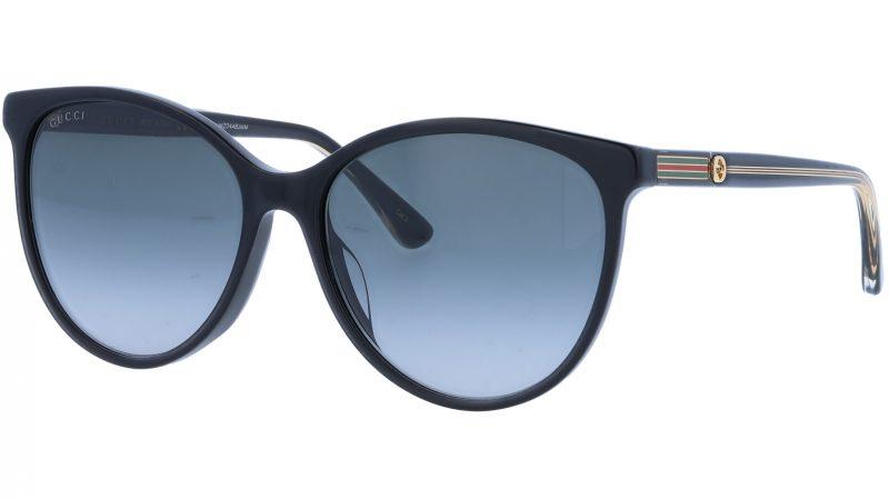 GUCCI GG0377SK 001 57 BLACK Sunglasses