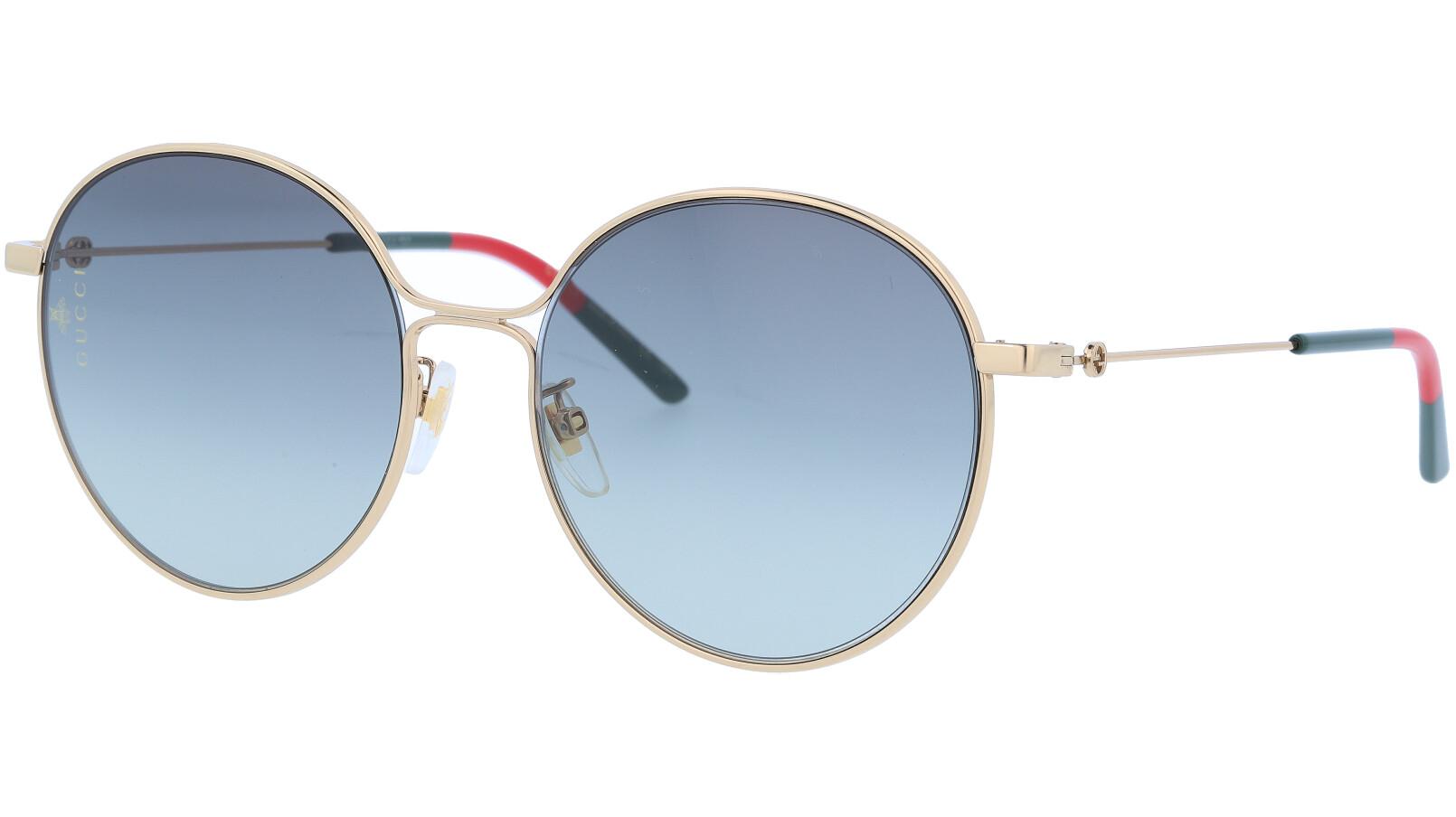 GUCCI GG0395SK 003 56 GOLD Sunglasses