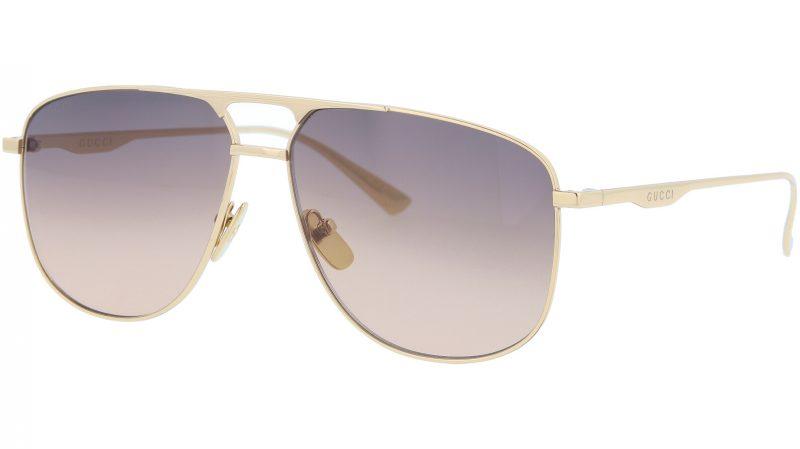 GUCCI GG0336S 001 60 GOLD Sunglasses