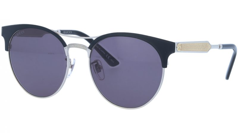 GUCCI GG0075SK 001 56 BLACK Sunglasses
