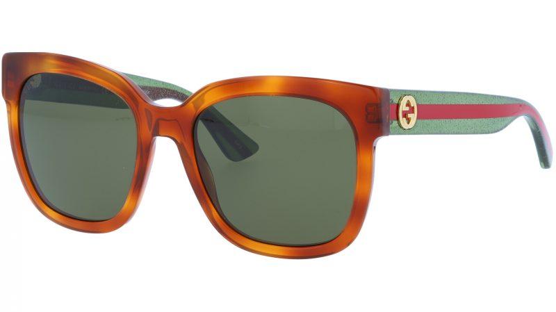 GUCCI GG0034S 003 54 AVANA Sunglasses