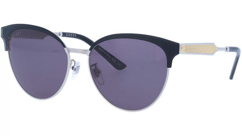 GUCCI GG0074S 001 57 BLACK Sunglasses