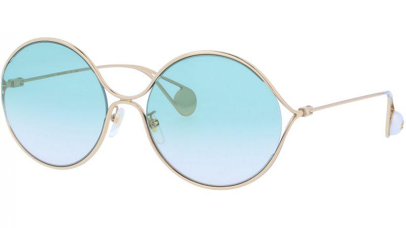 GUCCI GG0253SA 004 60 GOLD Sunglasses